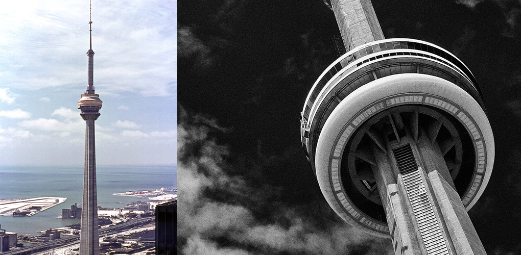 cn tower concrete construction