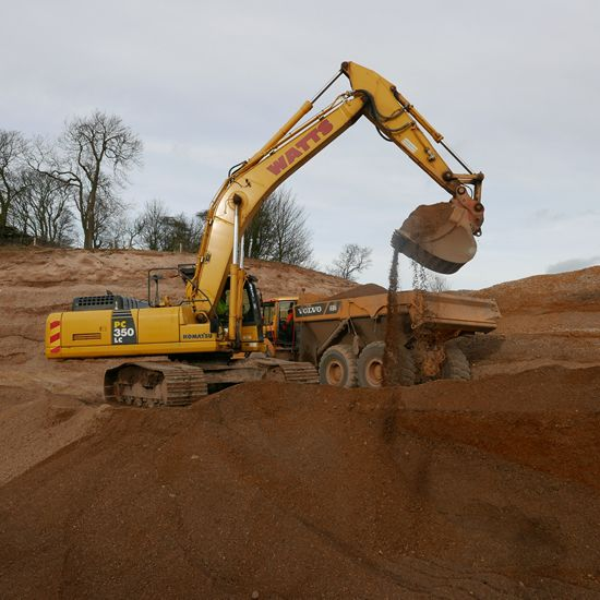 Unscreened Sand and Gravels