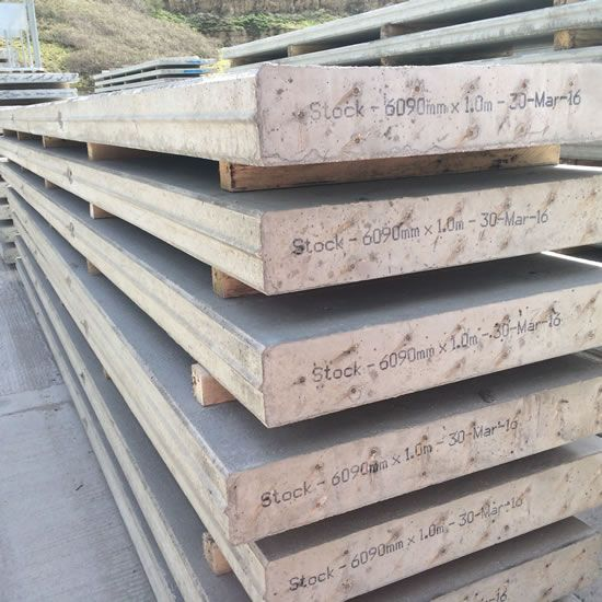 Heavy Duty Concrete Retaining Wall Panels